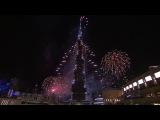 Самый дорогой салют в мире. Дубай 2014 !!!!